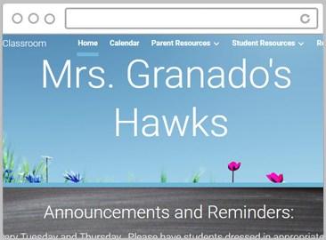 Thumbnail of Ms. Granado's Website