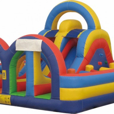 Bouncy Obstacle Course