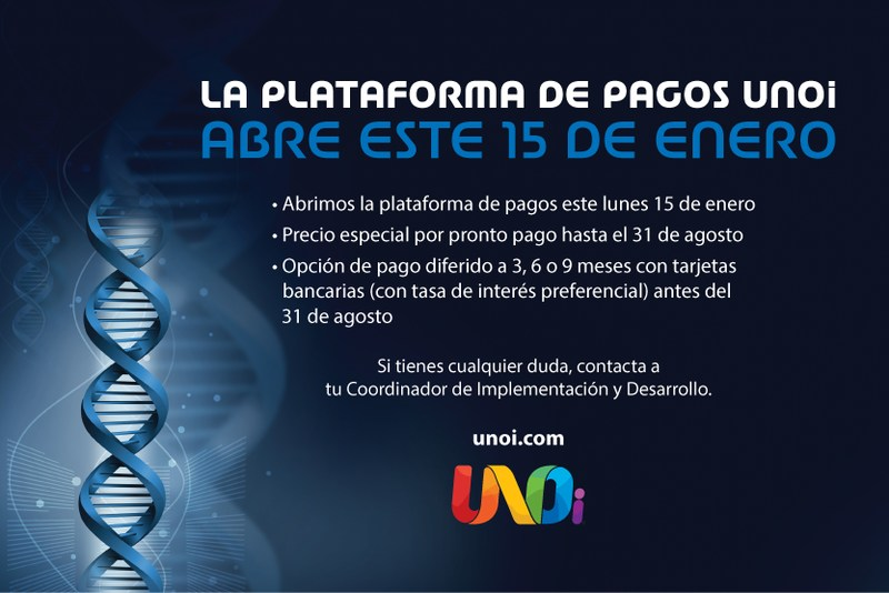 Plataforma de pagos UNOi Featured Photo