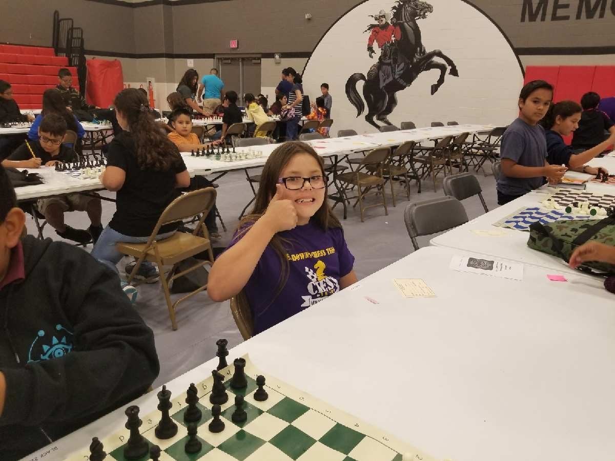 Luz Parra ~ 5th Grade Chess Team Member