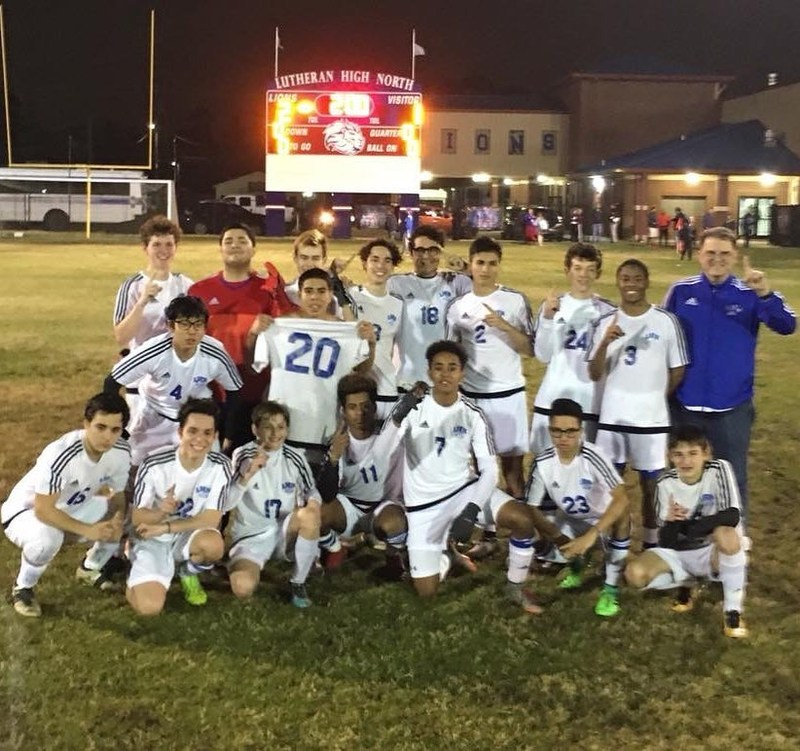 LIONS VARSITY SOCCER WINS DISTRICT! Thumbnail Image