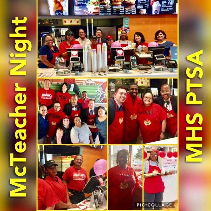 MISD Participates in McTeacher Night with Manor McDonalds Thumbnail Image