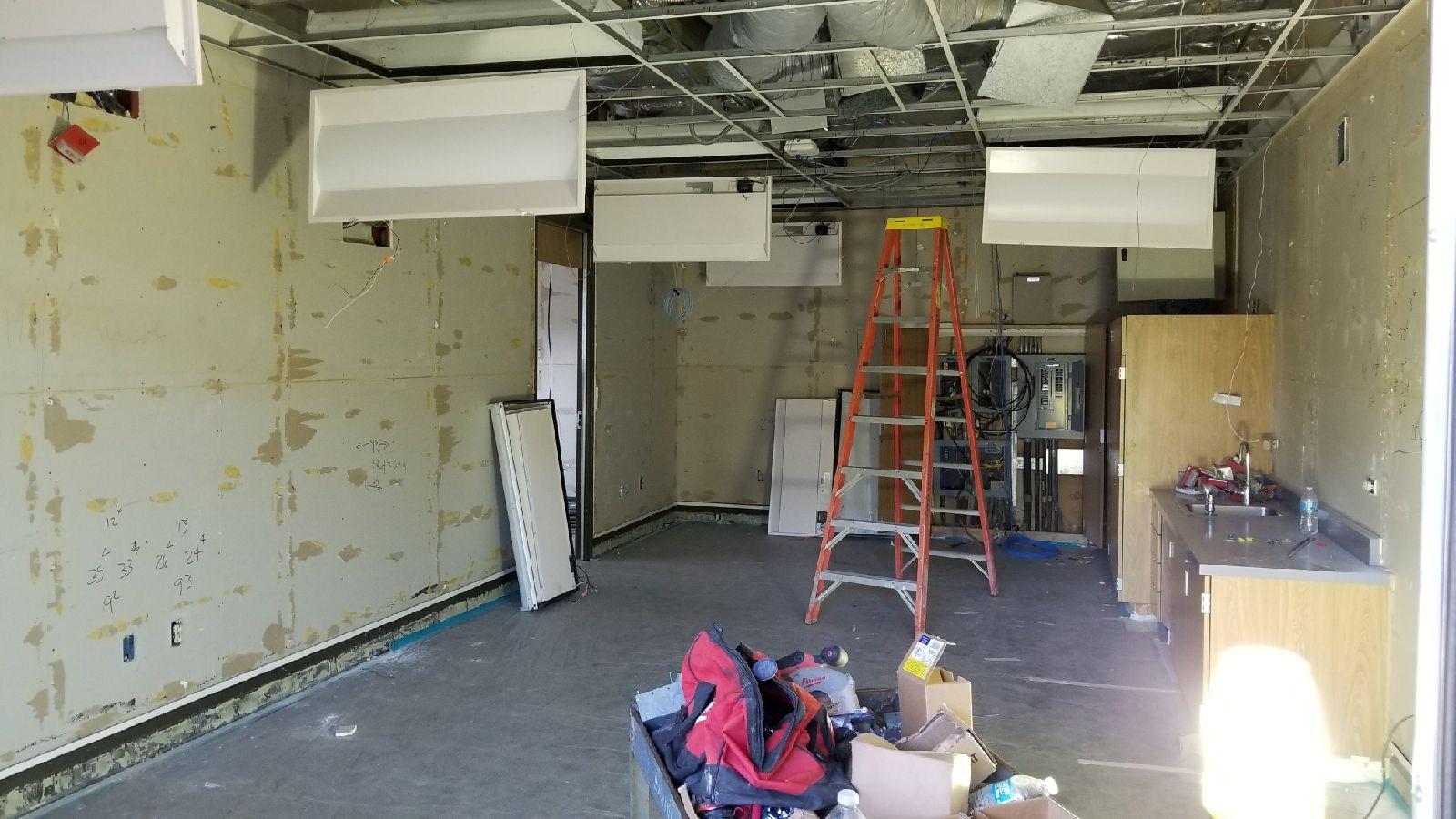 De Anza Elementary School Modernization Construction