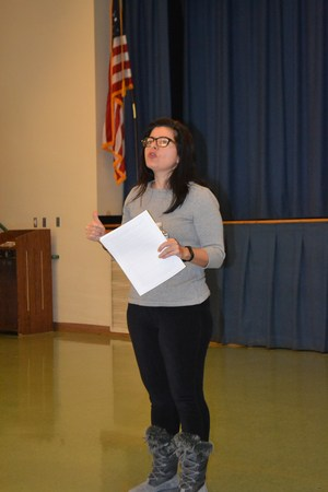 cyber bullying presenter talking to jmfa parents