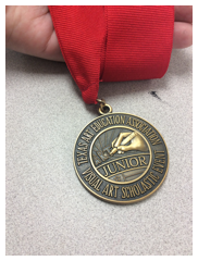 Five MMS students came home with VASE medals over the weekend.