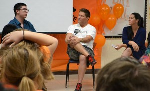 Image of Actor Sean Kanan at Unity Day at Sequoia School