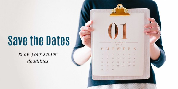 Senior Dates Calendar