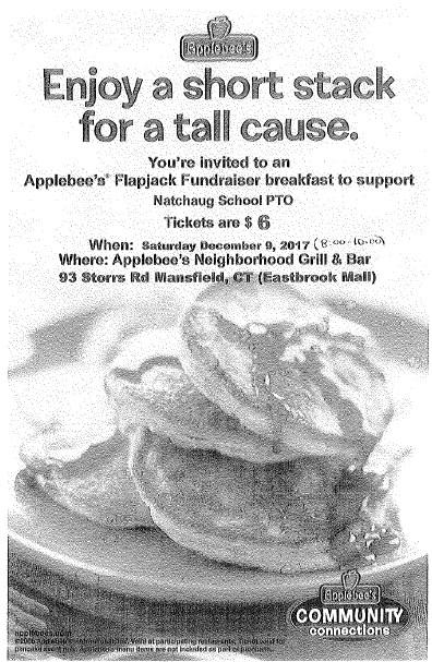 PTO AppleBee's Fundraiser Thumbnail Image