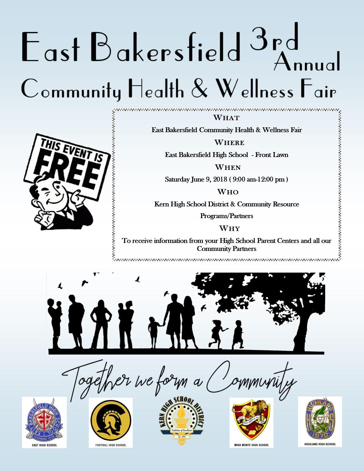 3rd Annual East Bakersfield Health and Wellness Fair