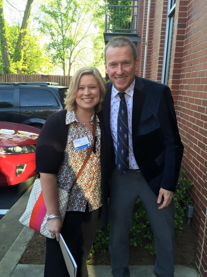 Ron Clark and Mrs. Simpson