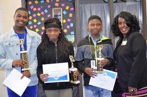 NMS Spelling Bee Winners.