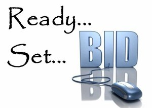 Ready Set Bid Logo