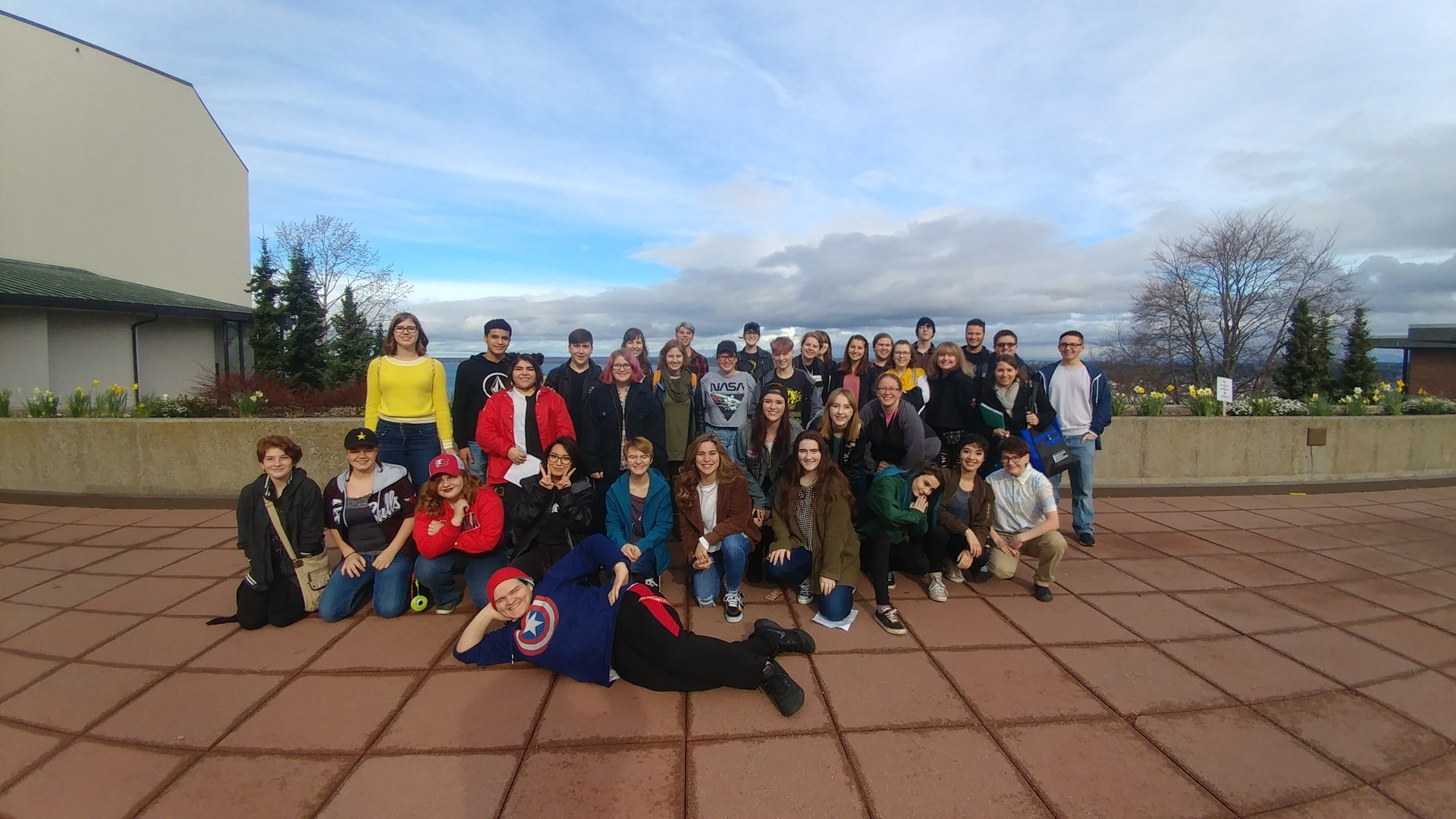 Crew of Thespians at WWU