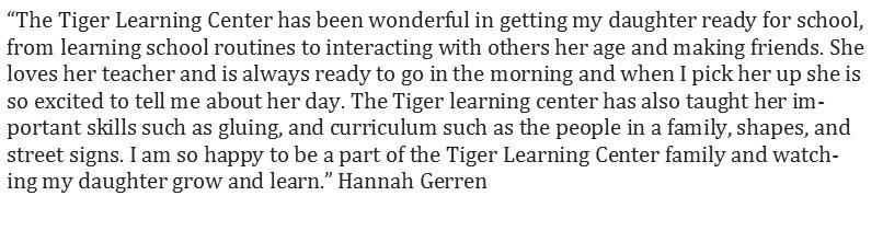 Tiger Learning Center (TLC) – Tiger Learning Center (TLC