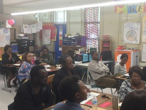 A photo of City of Baker teachers in professional development