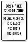 Drug Free School Zone Picture