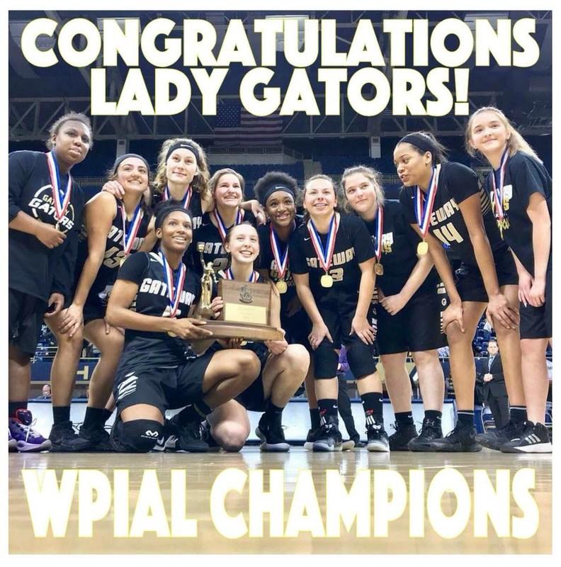 Gator Girls Basketball WPIAL 5A Champions!!! Thumbnail Image