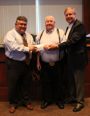 White Settlement Masonic Lodge #1372 donated $1,000 in gift cards to help WSISD families in need.