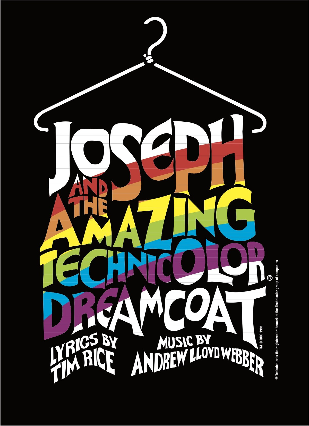 Joseph and the Technicolor Dreamcoat Logo