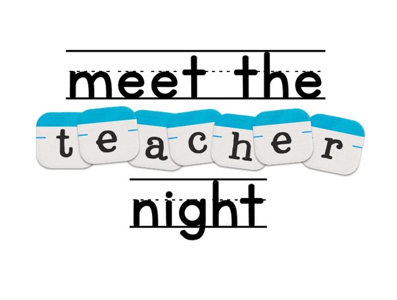 Meet the Teacher night-Thursday, August 17th Thumbnail Image