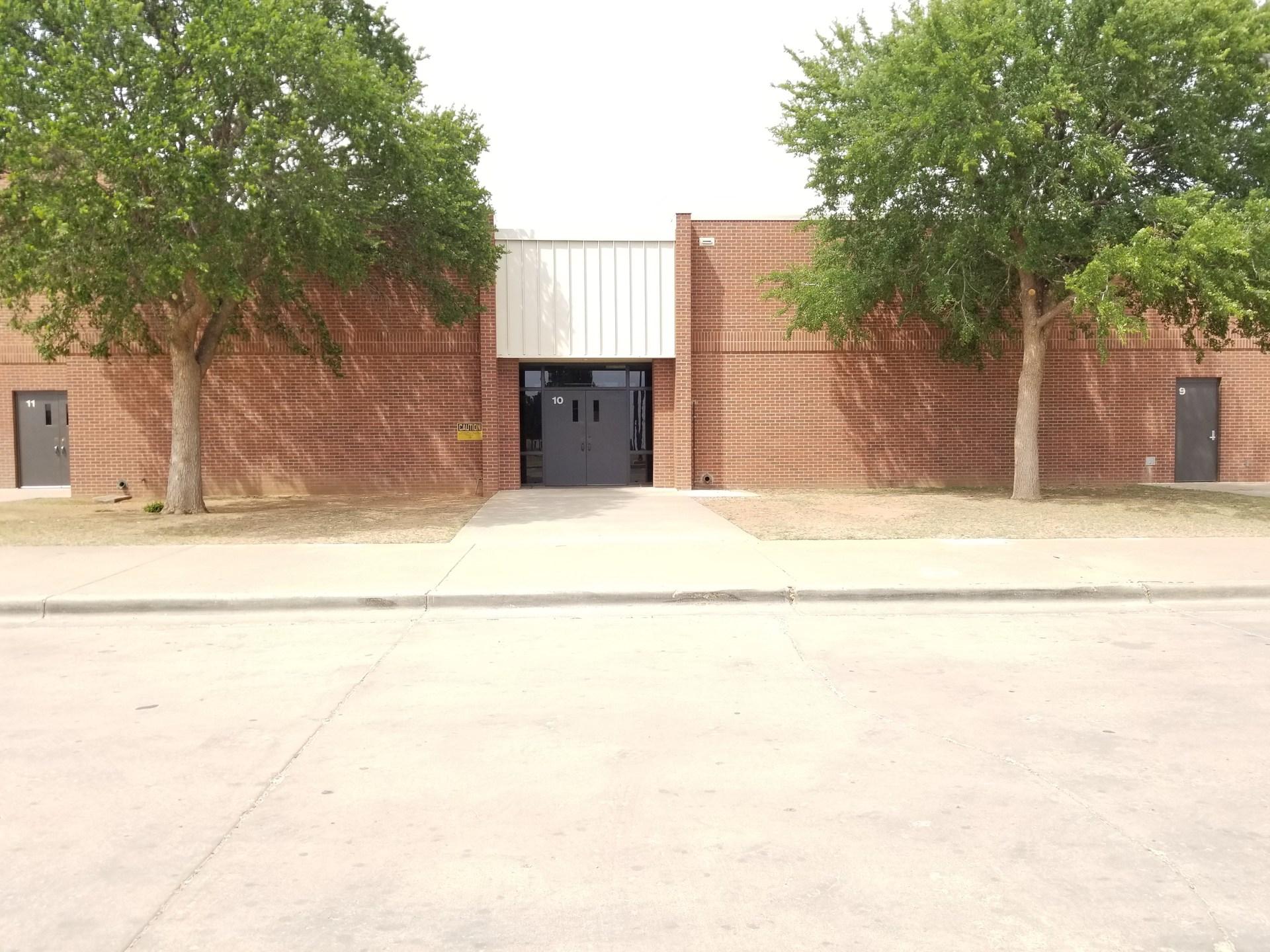 Bennett Elementary Outside Cafeteria Entrance