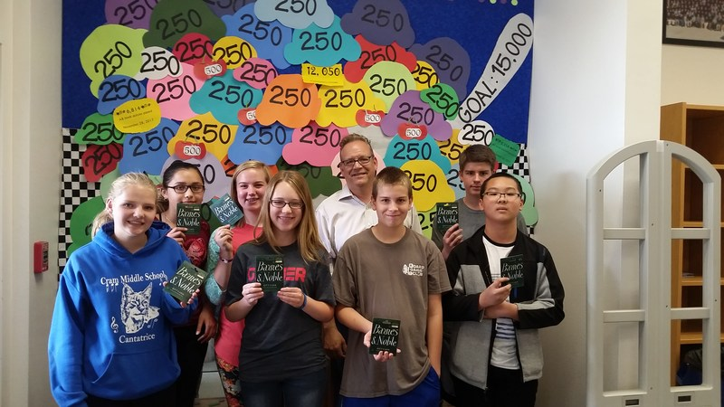 Congrats to This Year's Top Point Earners for Accelerated Reader! Featured Photo