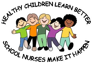 School Nurse Healthy Kids Graphic