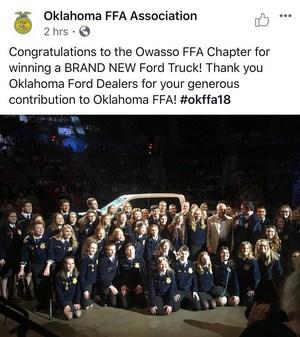 Owasso FFA Chapter