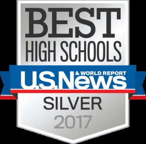US News & World Report Silver Medal 2017