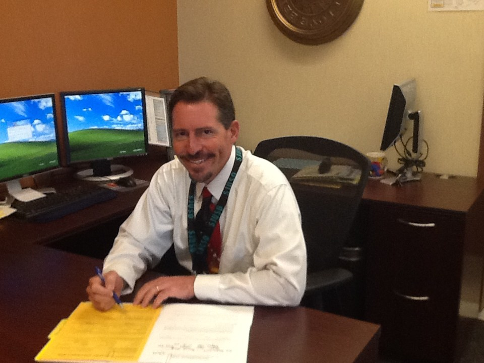 Principal Ken Swanson