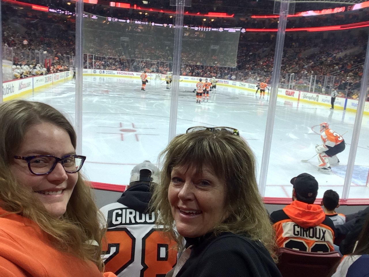 Flyers Game with Mrs. Gulley