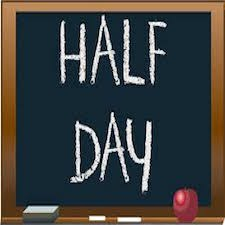 Half Day on Friday Nov 17th! Thumbnail Image