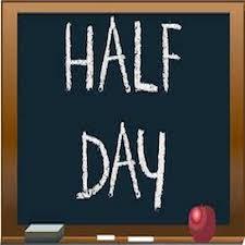 Half Day on Friday Nov 17th! Thumbnail Image