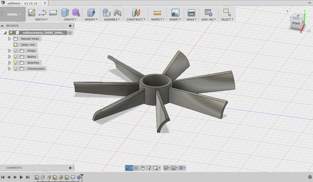 3D Fan file