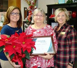 Sampson wins EC Teacher of Excellence  Award