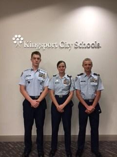 The Award-Winning D-B JARFOTC Unit Leadership