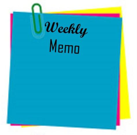 Principal's Weekly Memo  May 28 - June 1 Thumbnail Image