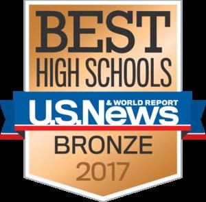 Bronze High School 2017 U.S. News & World Report