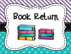 Book Return Schedule - This Week Featured Photo