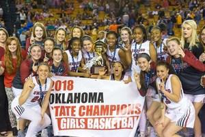 Owasso Rams Girls Basketball Team-2018 State Champs