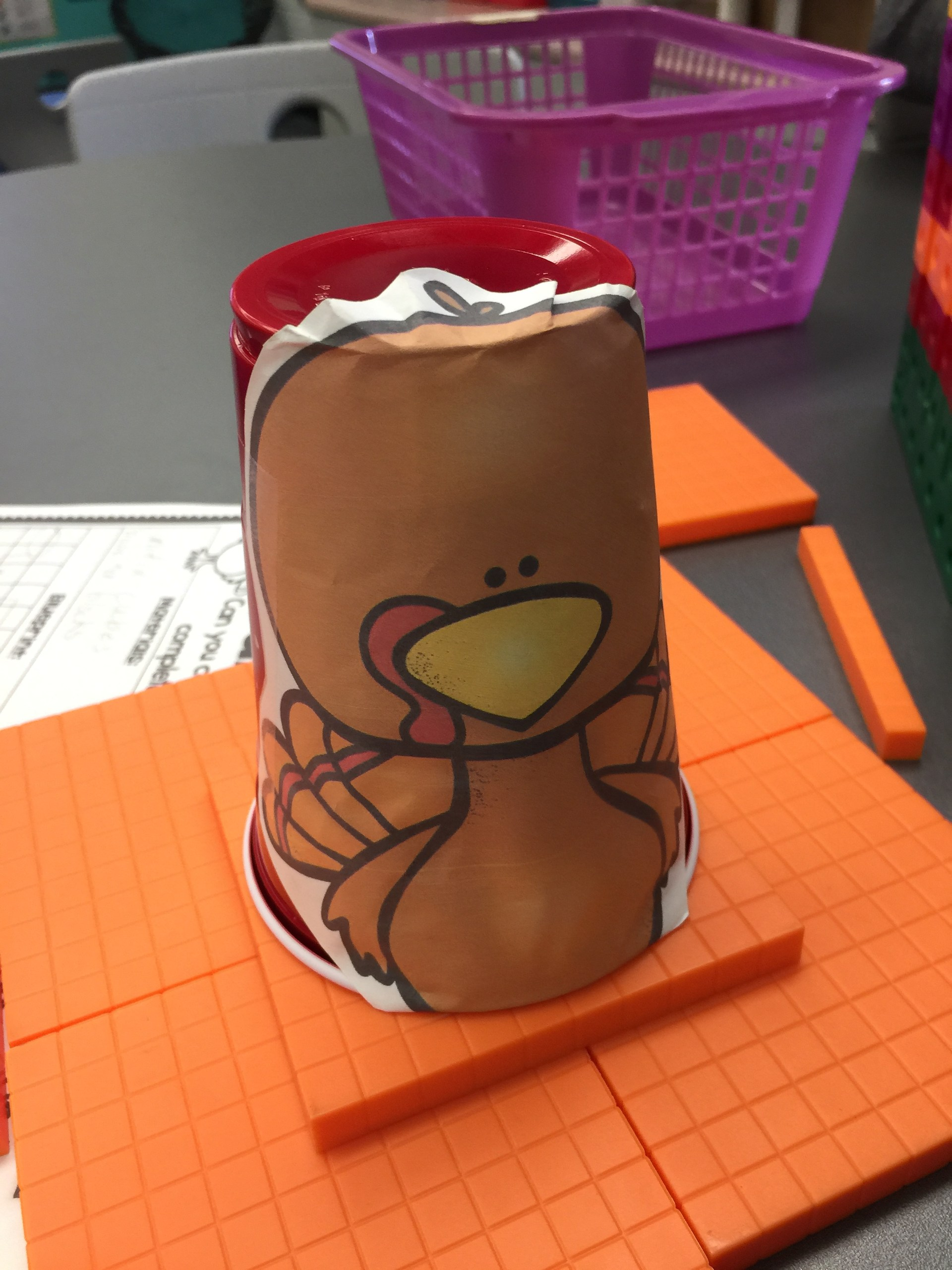 Turkey Hideout STEM Challenge