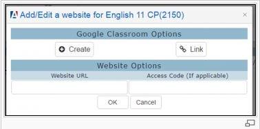 Technology / Google Classroom & Aeries Integration
