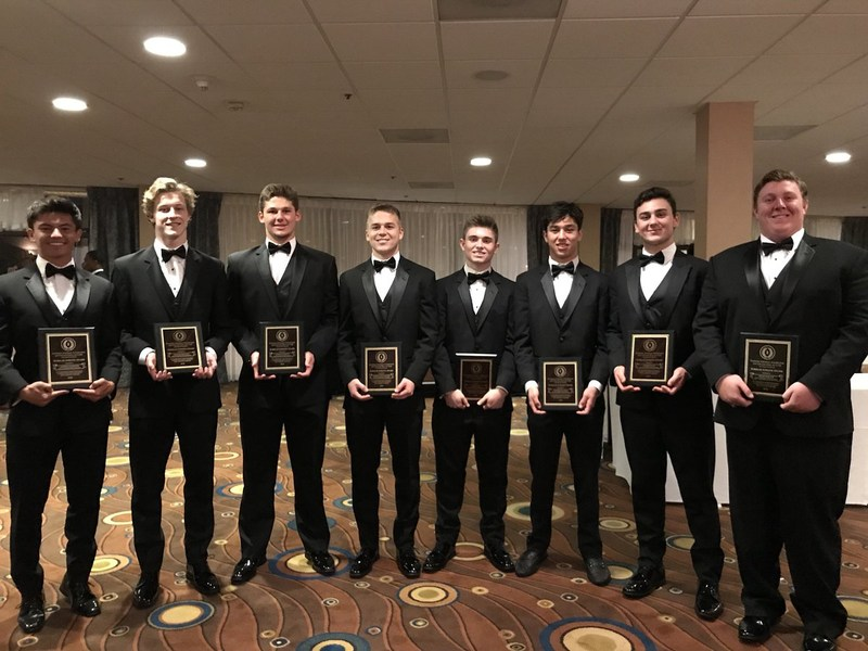 Football wins big at National Football Foundation Scholar Athlete Awards Thumbnail Image