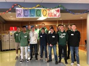Basketball team at Mercersburg