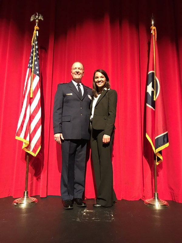 RCS graduate commissioned into U.S. Air Force, pursuing medical degree Thumbnail Image