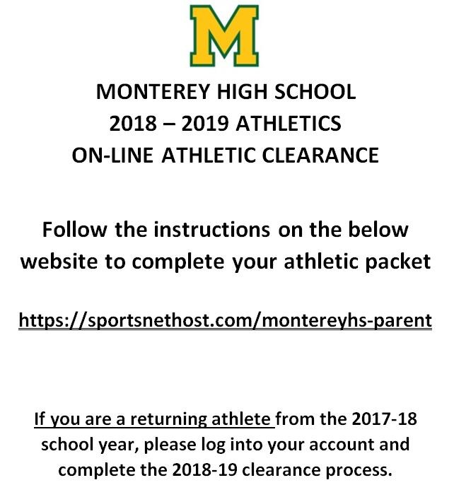 Student Athletic Clearance