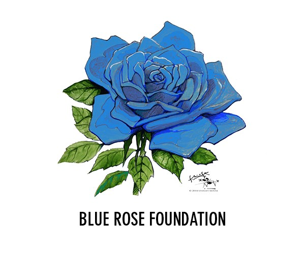 Bluerose Foundation Logo