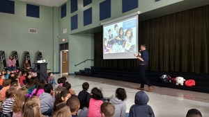 Pennies for Patients presentation to Cannan students.