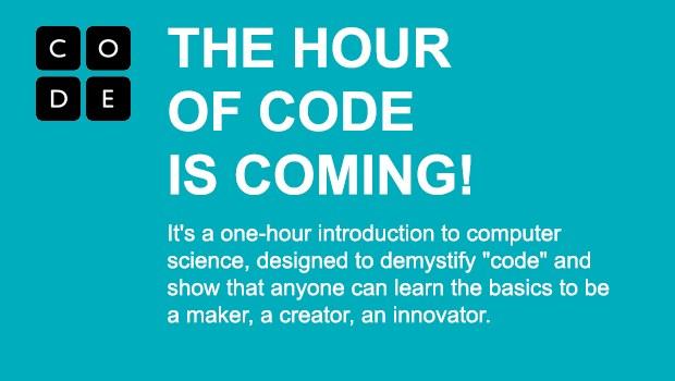 hour of code logo