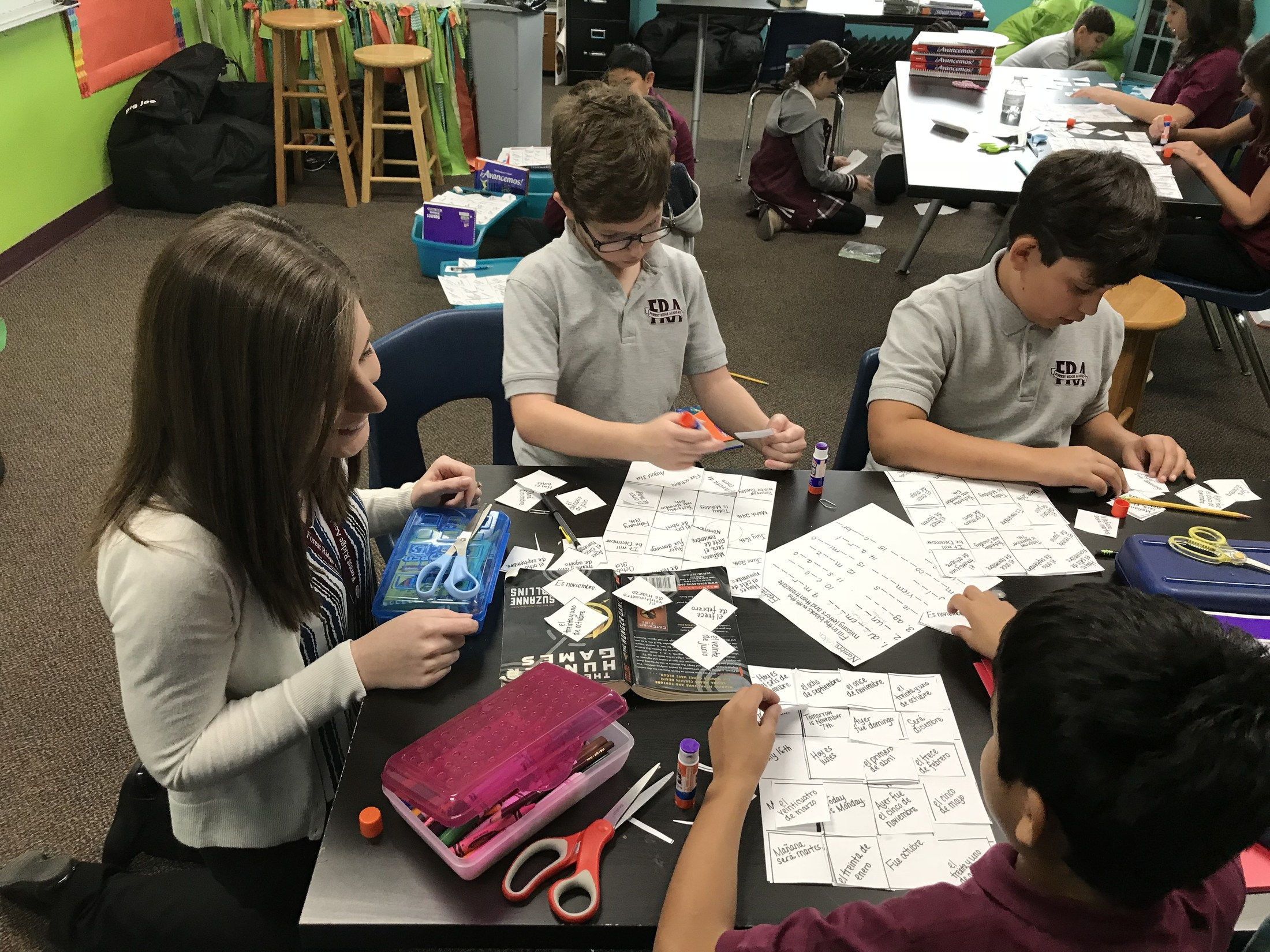 World Languages – Intermediate School – Forest Ridge Academy